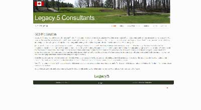 screenshot legacy 5 consultants