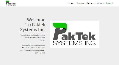 screenshot paktek systems