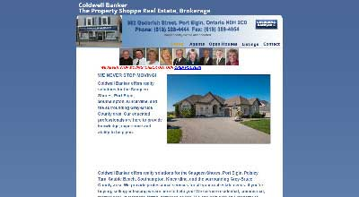 screenshot PE Coldwell Banker