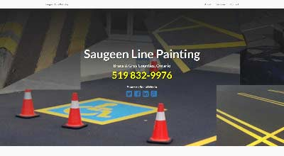 screenshot saugeen line painting