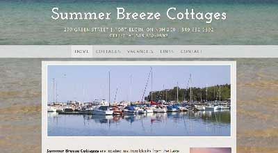 screenshot summer breeze cottages