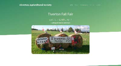 screenshot tiverton agricultural society